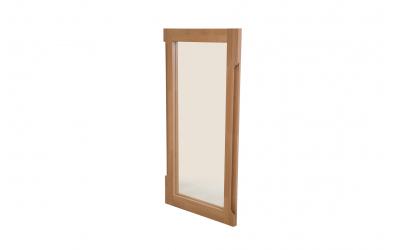 Zrcadlo 1 buk cink