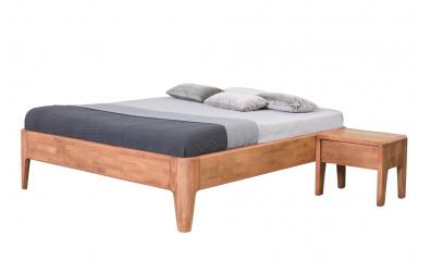 Manželská postel FANTAZIE 180 cm dub cink